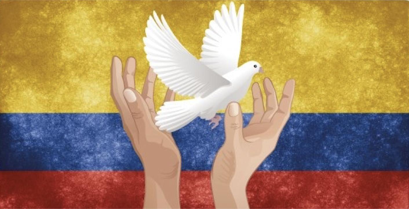Colombian Flag Starlight Runner